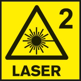 激光级别2 测量工具的激光级别。
