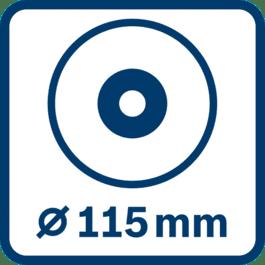 磨片直径115 mm