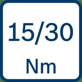 硬/软扭矩15/30 Nm