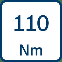 扭矩110 Nm