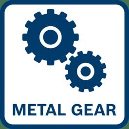 使用寿命更长 采用全金属齿轮结构,功率传输性能好,磨损小
