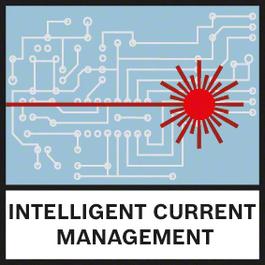 智能电流管理 智能电流管理可帮助监控激光二极管的温度并使激光可见性最大化,而不会过热