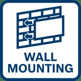 墙壁安装功能