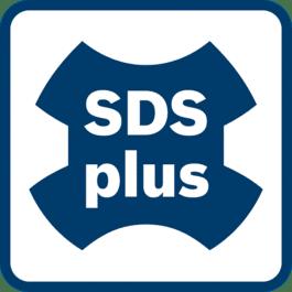 SDS plus刀座 高质量的动力传递。用于2 – 4公斤级锤钻。