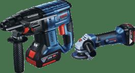 GBH 180-LI + GWS 18V-LI Professional