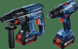 GBH 180-LI + GSR 180-LI Professional