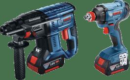 GBH 180-LI + GDX 180-LI Professional