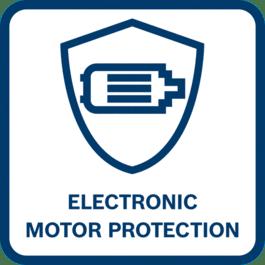 马达使用寿命长 在过载、过热或堵塞时电机会关闭,可实现更长的电机使用寿命