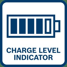 电池充电电量指示器 显示剩余电池充电电量