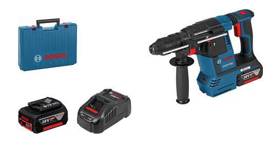 通过附件盒包装,配2个6.0安时锂离子电池、附件套装