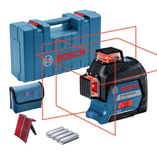 通过附件盒包装,配4块电池(AA)、激光目标板